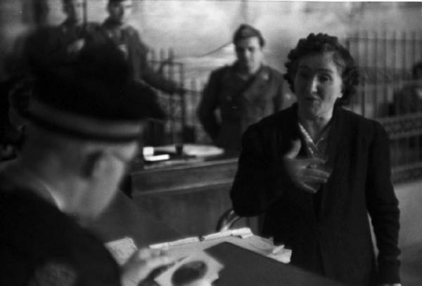 Leonarda Cianciulli al processo