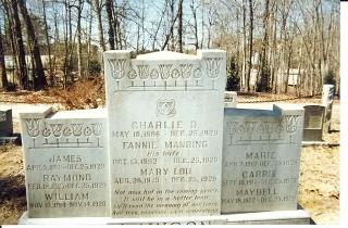 tombe della famiglia Lawson