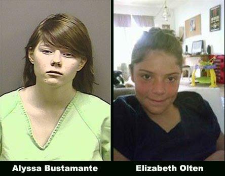 Alyssa Bustamante e Elizabeth Olten
