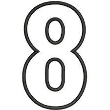 octofobia, paura del numero 8