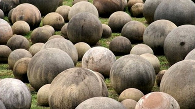 Sphere stones of Costa Rica