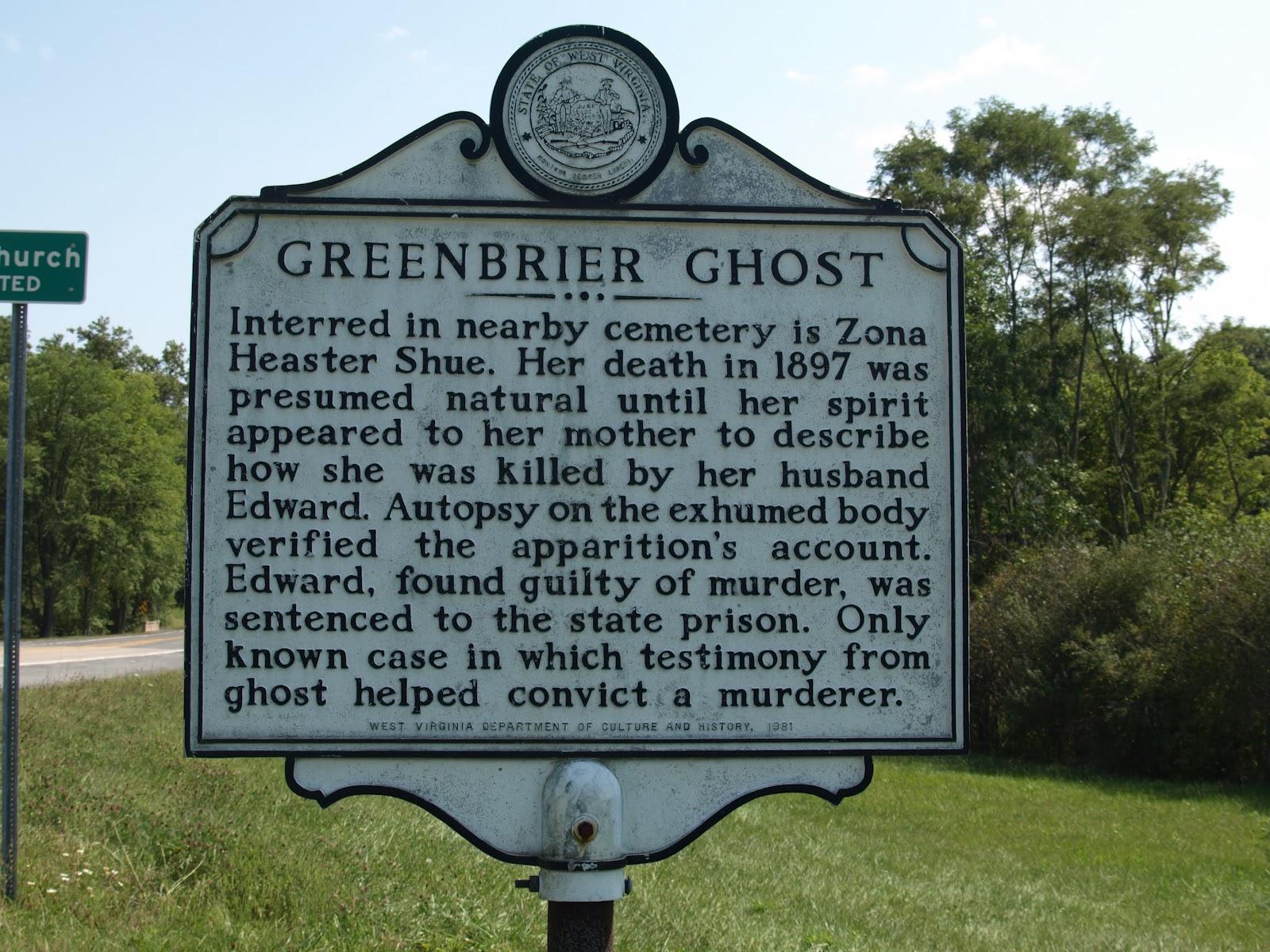 fantasma di Greenrbirer