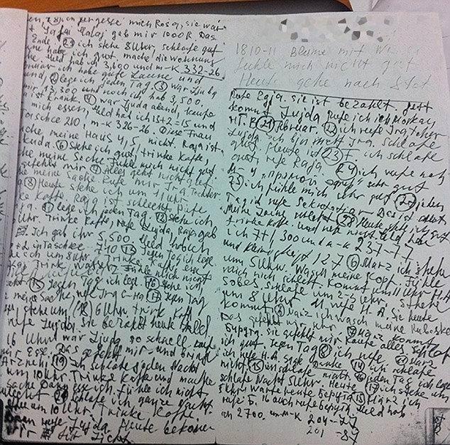 Tamara Samsonova diari