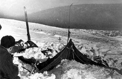 Passo Dyatlov - ritrovamento accampamento