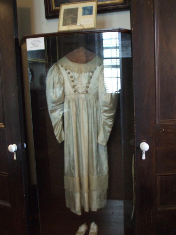 Anna Baker's wedding dress