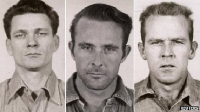 Fuga da Alcatraz Frank Morris, John Anglin Clarence Anglin