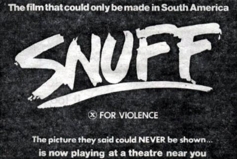 """il film """"snuff"""""""