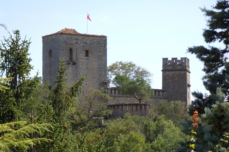 il fantasma del castello di Gropparello