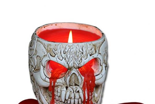 candela teschio